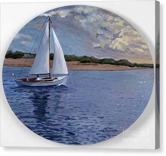 Sailing Homeward Bound Canvas Print