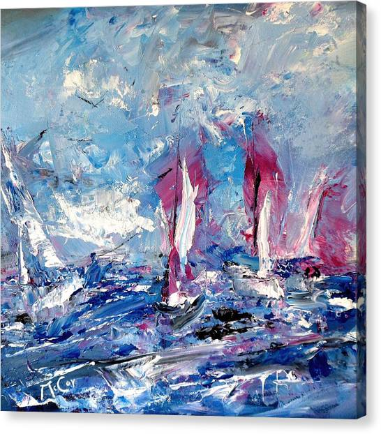 Sailing Magic Canvas Print