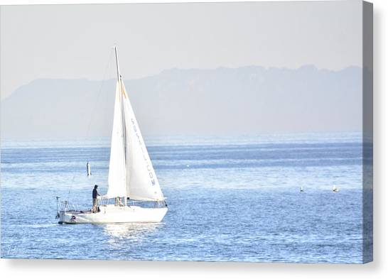 Sailing Peace Canvas Print
