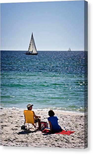 Sailing Sailing Canvas Print