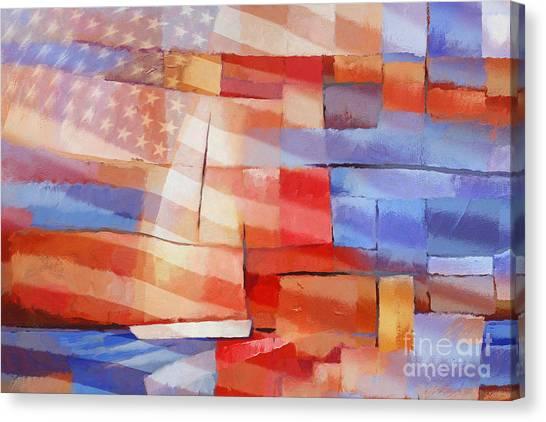 Colorplay Canvas Print - Sailing Stripes by Lutz Baar