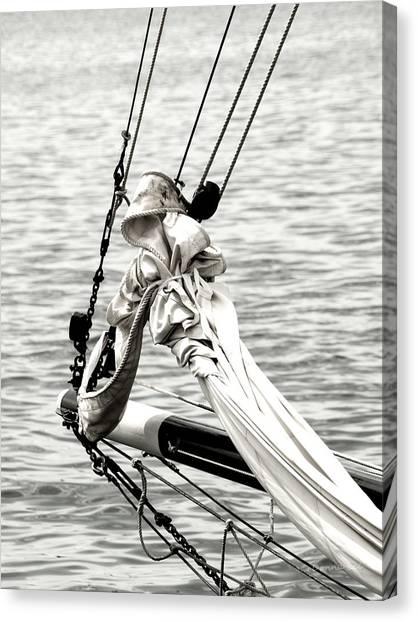 Sailing The Seven Seas Canvas Print