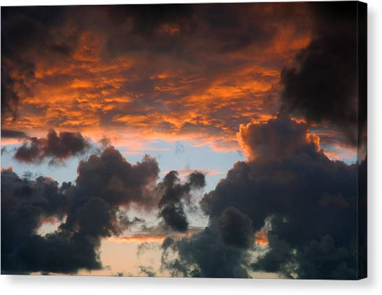 Sailors Take Warning Canvas Print