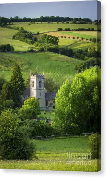 Saint Andrews - Cotswolds Canvas Print