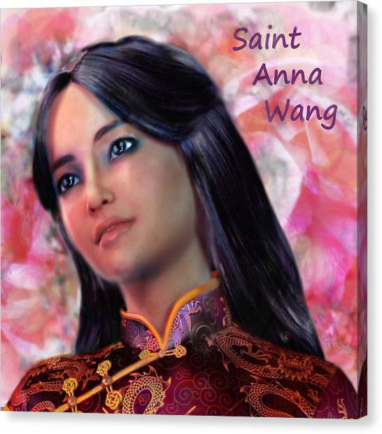 Saint Anna Wang/2 Canvas Print