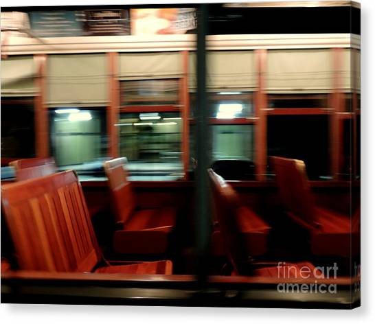 New Orleans Saint Charles Avenue Street Car In New Orleans Louisiana #6 Canvas Print