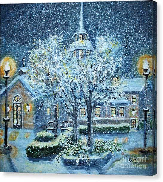 Saint Dominic Chapel Providence College Canvas Print