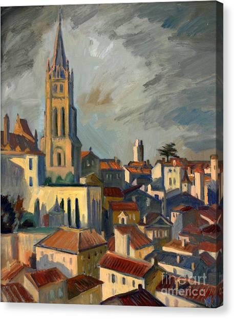 Saint Emilion Canvas Print