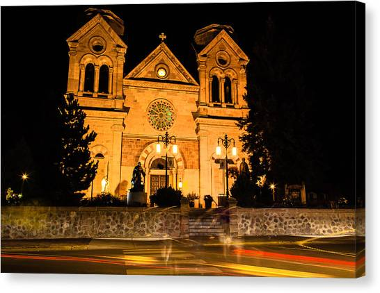 Saint Francis Cathedral Canvas Print