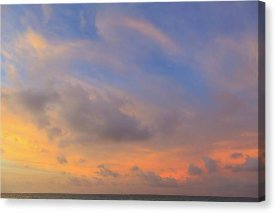 Belize Canvas Print - Saint Georges Caye Resort, Belize (pr by Stuart Westmorland