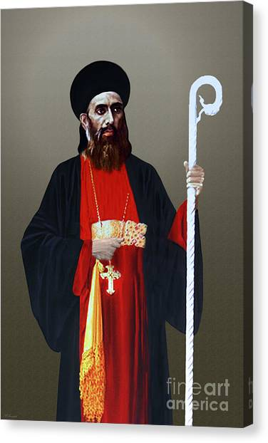 Saint Gregorios Of Parumala Canvas Print