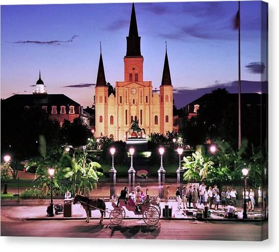 Saint Louis Cathedral New Orleans Canvas Print