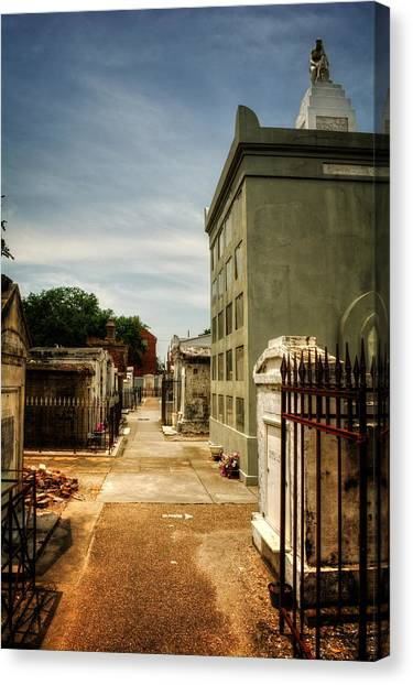 Saint Louis Cemetery Number 1 Canvas Print