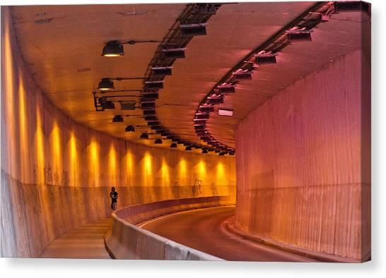 Saint-marc Tunnel Scene 1 Canvas Print by Eric Soucy