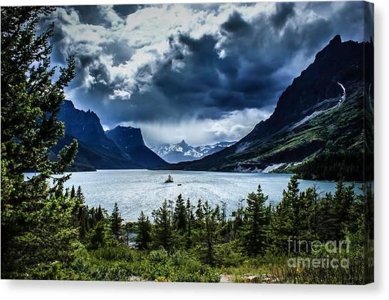 Saint Mary Lake Canvas Print