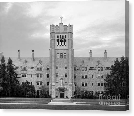 Degrees Canvas Print - Saint Mary's College Le Mans Hall by University Icons