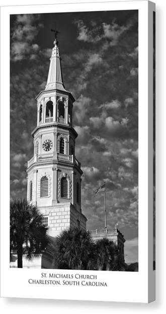 Saint Michaels Church Canvas Print