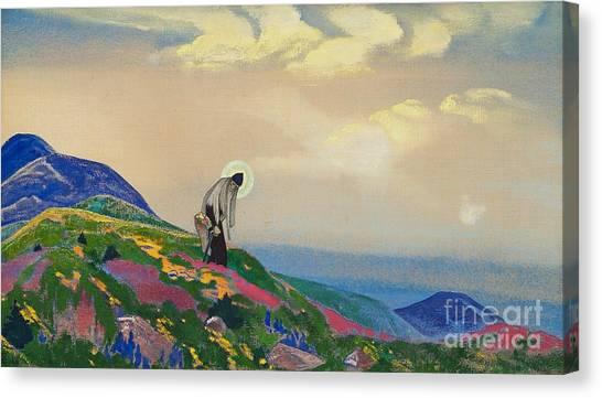 Saint Pantaleon The Healer Canvas Print