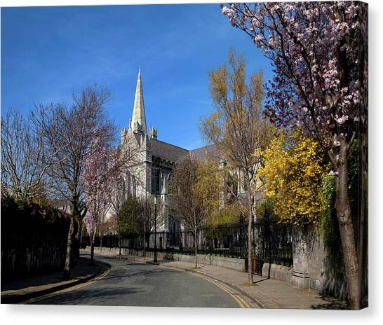 Early Christian Art Canvas Print - Saint Patricks Cathedral Founded by Panoramic Images