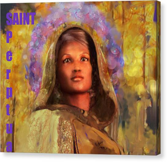 Saint Perpetua/5 Canvas Print