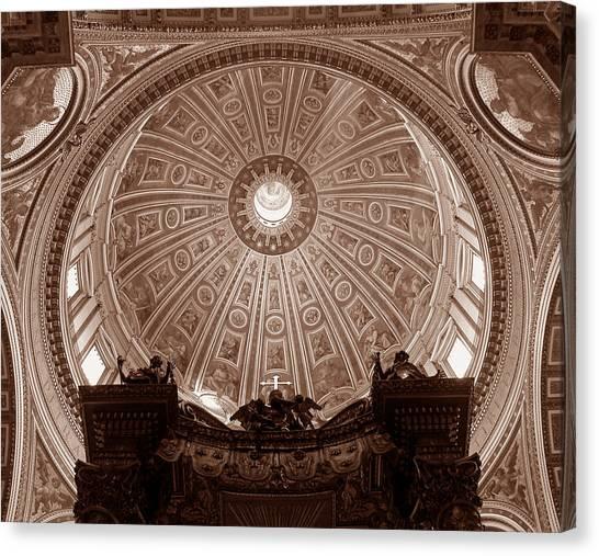 Saint Peter Dome Canvas Print