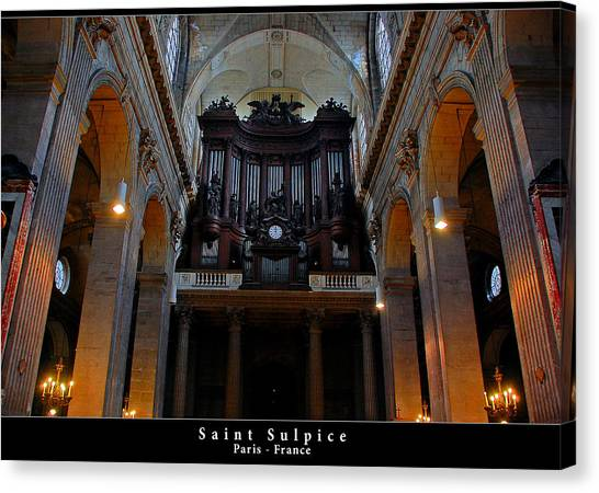 Saint Sulpice Canvas Print