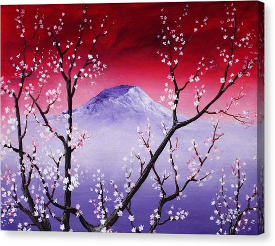 Affordable Canvas Print - Sakura by Anastasiya Malakhova