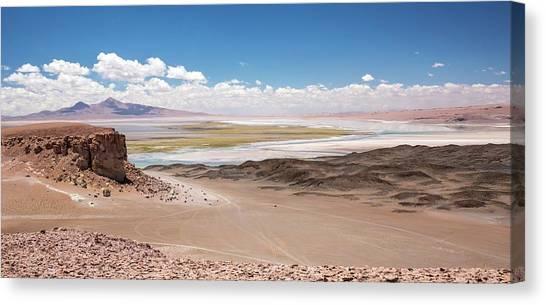 Atacama Desert Canvas Print - Salar De Tara by Peter J. Raymond