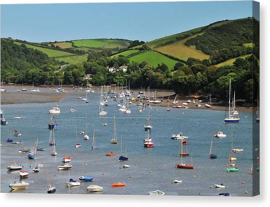 Salcombe Estuary Canvas Print