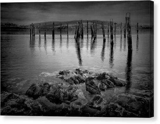 Salen Pier 2 Canvas Print