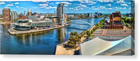 Salford Quays Canvas Print