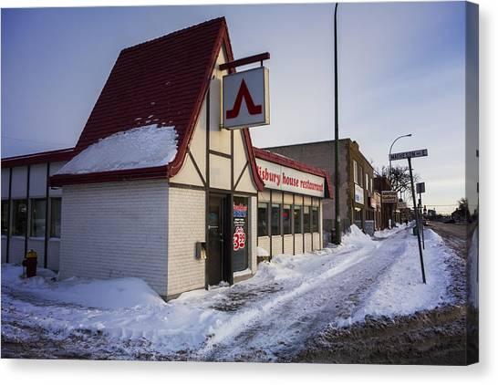 Manitoba Canvas Print - Salisbury House by Bryan Scott
