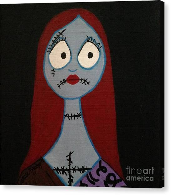 Sally Waits For Jack Canvas Print