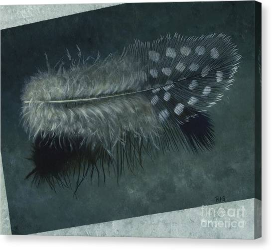 Sal's Feather Canvas Print