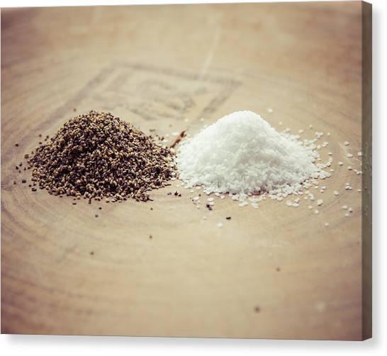 Salt And Pepper Canvas Print
