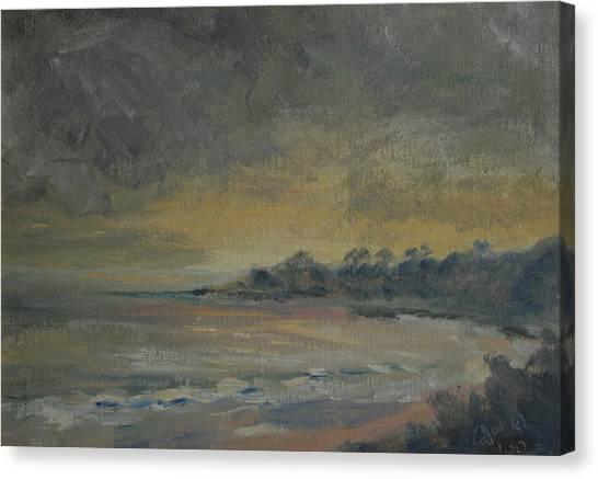 Salt Creek Sunset Canvas Print