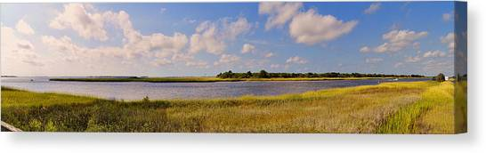 Salt Marsh Morning - Southport Canvas Print
