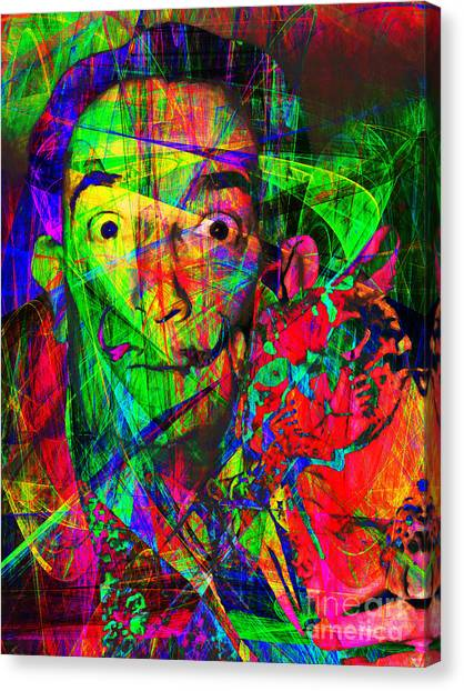 Dada Art Canvas Print - Salvador Dali 20130613 by Wingsdomain Art and Photography