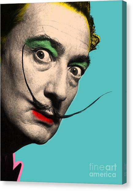 Canvas Print - Salvador Dali by Mark Ashkenazi