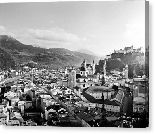 Salzburg Austria Canvas Print