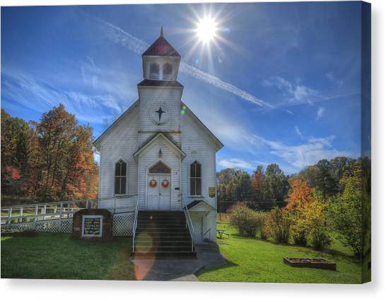 Sam Black Church Canvas Print