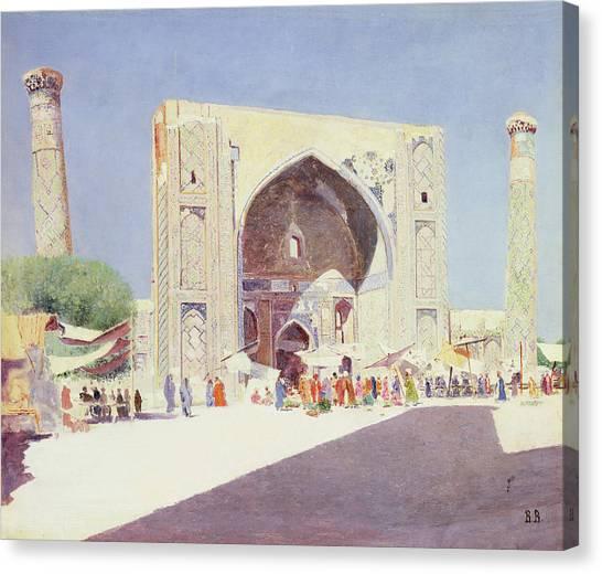 Islam Canvas Print - Samarkand, 1869-71 Oil On Canvas by Vasili Vasilievich Vereshchagin