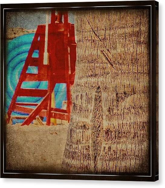 Lifeguard Canvas Print - same As What They Taught You As A by Melinda Ledsome
