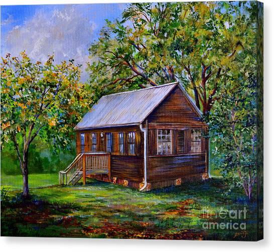 Sams Cabin Canvas Print
