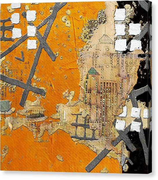 University Of Nevada - Reno Canvas Print - San Antonio 001 B by Corporate Art Task Force