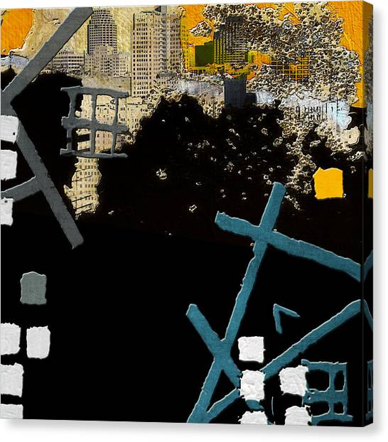 University Of Nevada - Reno Canvas Print - San Antonio 001 C by Corporate Art Task Force