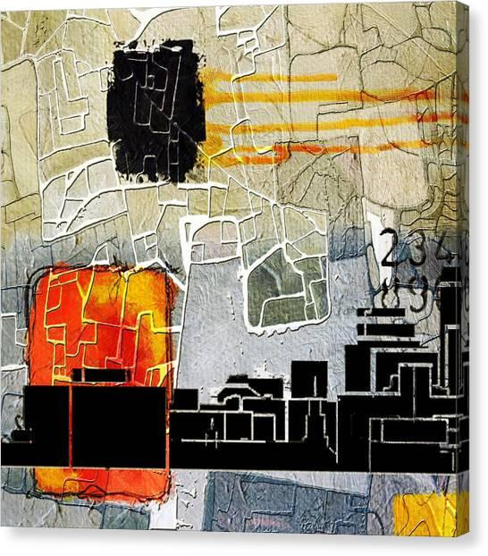 University Of Nevada - Reno Canvas Print - San Antonio 002 A by Corporate Art Task Force