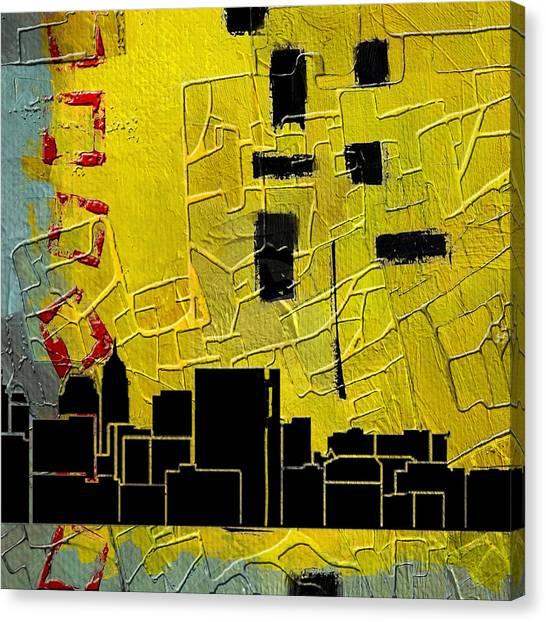 University Of Nevada - Reno Canvas Print - San Antonio 002 C by Corporate Art Task Force