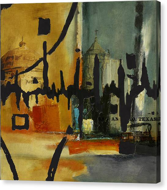 Uaa Canvas Print - San Antonio 003 B by Corporate Art Task Force