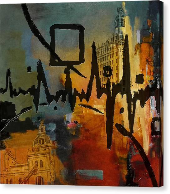 Uaa Canvas Print - San Antonio 003 C by Corporate Art Task Force